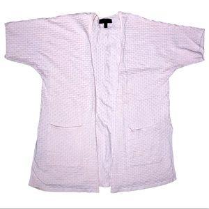 Lane Bryant Side Slit Pink Cardigan